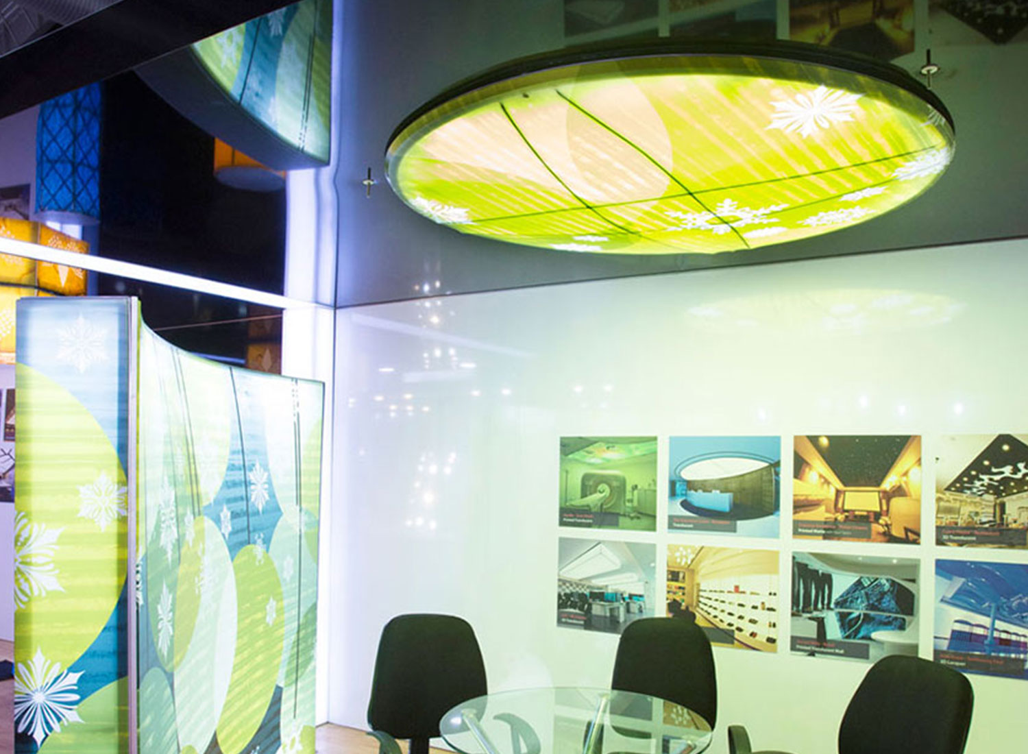 Acetech - Stretch Ceiling  Translucent with Backlighting in event - Event - Mumbai