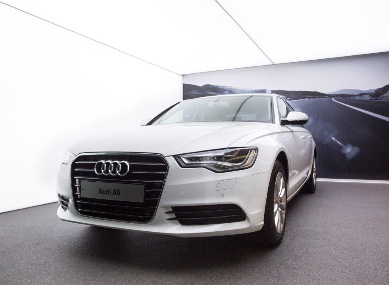 Audi - Stretch Ceiling  Translucent with Backlighting in Showroom - Showroom