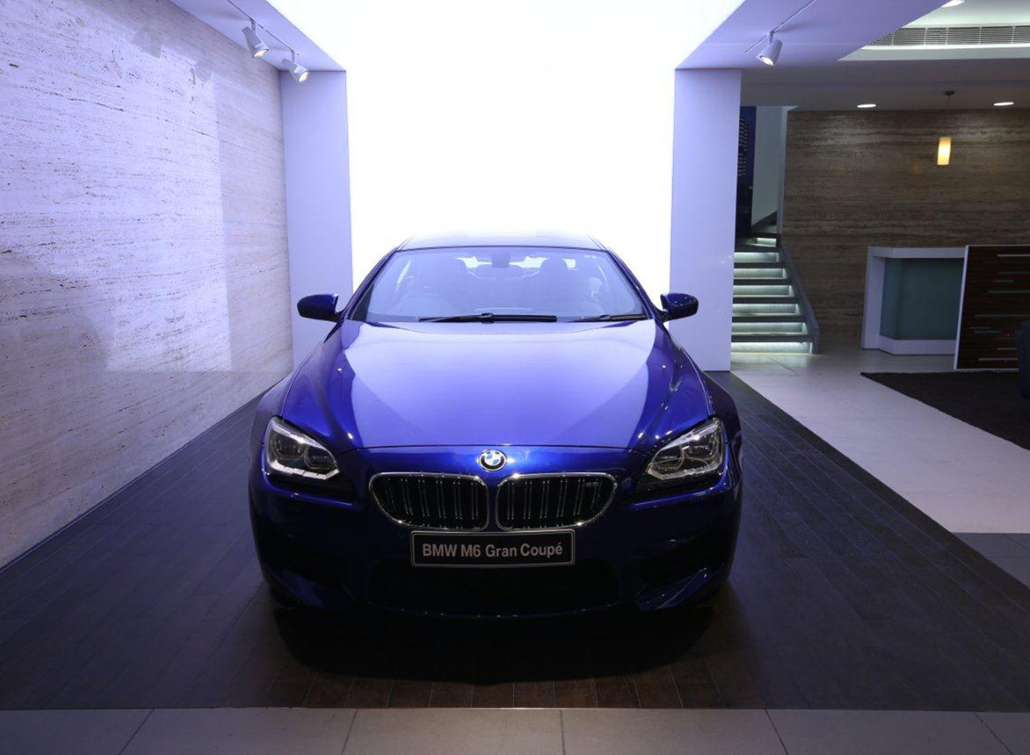 BMW - Stretch Ceiling  Translucent with Backlighting in Showroom - Showroom